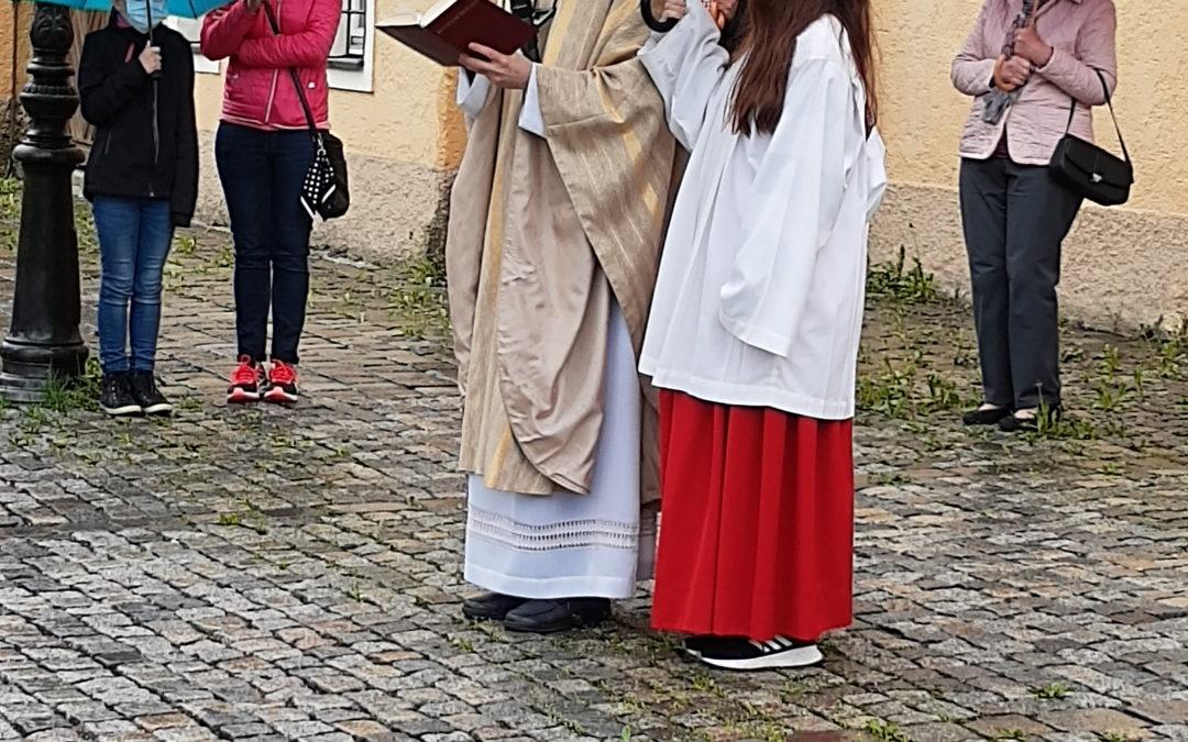 Fahrzeugsegnung an Christi Himmelfahrt